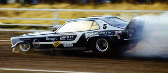 Racing In Car >> Dennis Priddle 1976