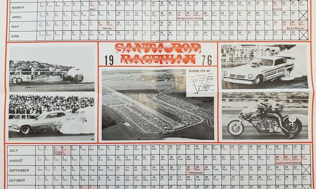 Santa Pod Raceway's calendar of events from 1976 and 2019