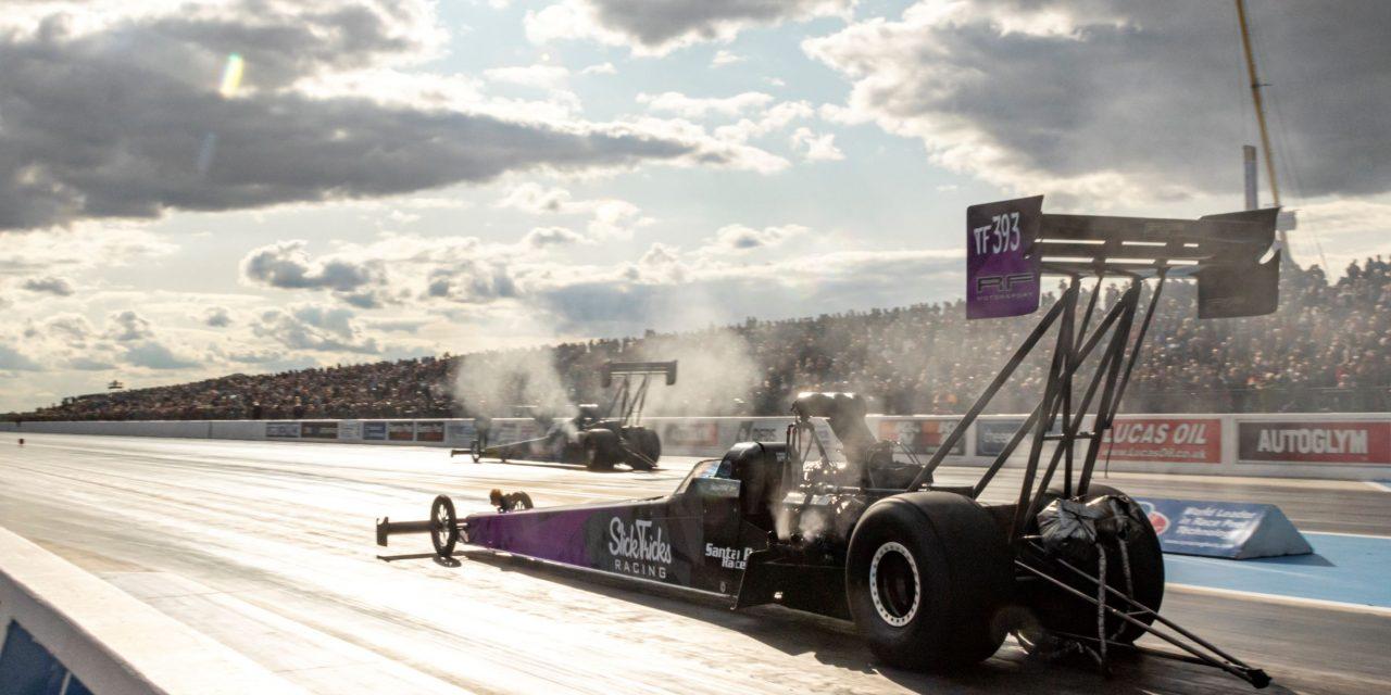 Nitro drag racing returns to Santa Pod next weekend
