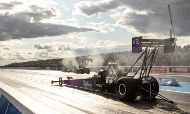 Nitro drag racing returns to Santa Pod next weekend