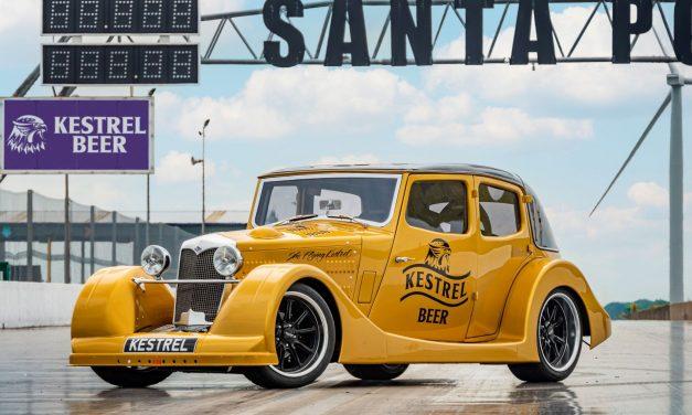SANTA POD WELCOMES KESTREL BEER AS NEW LANE SPONSOR